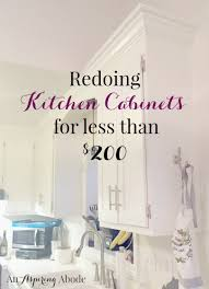 Kitchen Cabinets For Less Saving Money An Aspiring Abode