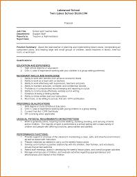 Teacher Aide Resume Teacher Assistant Resume Objective