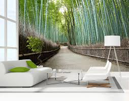 Small Picture Bamboo Grove Wall Mural YOUR DECAL SHOP NZ Designer Wall Art
