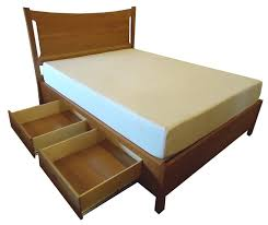 Armstrong Full Size Wood Storage Platform Bed
