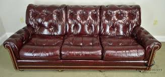 red leather tufted sofa oxblood red leather tufted sofa