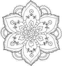 mandala coloring pages printable easy free simple expert