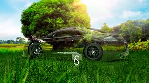 mitsubishi eclipse crystal nature car
