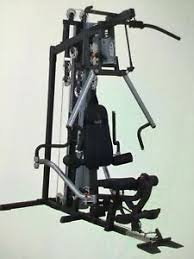 Body Solid Sbl460p4 Exercise Chart Body Solid G6b Home Gym