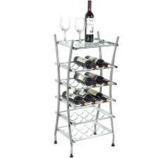 Wine Bottle Storage Angle Wine Bottle Glass Storage Racks Mygift