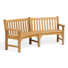 Small Picture Oxford Garden Essex Curved Wood Garden Bench Reviews Wayfair