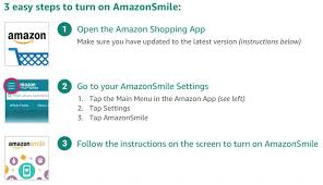 All you have to do is sign up at smile.amazon.com and be it may not sound like much but if we all use it regularly it will add up to a significant donation to our schools. Amazonsmile Sacred Heart Catholic Church