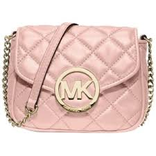 Pre-owned Michael By Michael Kors 'small Fulton' Quilted Blo ... & Pre-owned Michael By Michael Kors 'small Fulton' Quilted Blossom Cross Body  Bag Adamdwight.com