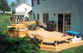 Backyard Decking Designs Model Interesting Inspiration