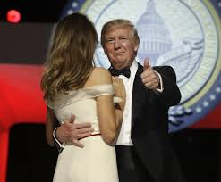 Image result for trump and melania dancing inaugural night pics