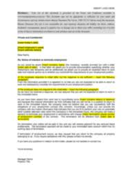 Termination Letter Template Long Term Illness Injury Termination Letter