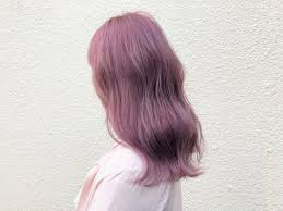 暗めでもかわいいブリーチなしのピンクアッシュヘアカタログ Arine