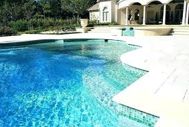 exquisite swimming pool waterline glass tiles