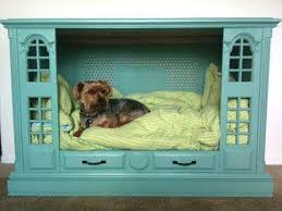 repurpose furniture dog. 25 Recycled Upcycled Entertainment Centers Furniture Projects Repurpose Dog
