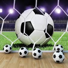Voetbal Papier Foto Muurprint Vlies Behang 155ve Ebay Jack And
