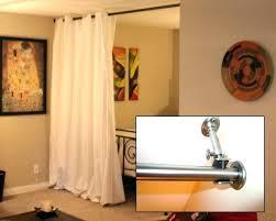 room divider curtain rod s s r pnel room divider curtain rod ikea