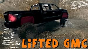 SpinTires | Mod Review | Lifted GMC Sierra | Best Truck So Far ...