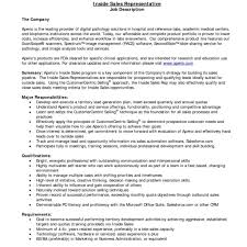 Sales Representative Job Description Sampleales Resumes New Resume Representative Job Description Inside 7