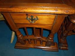 ... Solid Wood Coffee Table And End Table Set ...