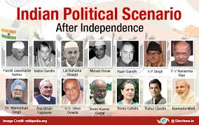 political history of after years of independence