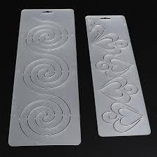 Hot Sale 1Pcs Semi transparent Circle Heart Stencil Plastic ... & aeProduct.getSubject() Adamdwight.com