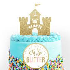 Boys Castle Cake Topper Prince Custom Birthday Custom