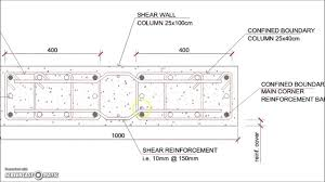 Small Picture Shear Wall Reinforced Concrete Column Reinforcement Details YouTube