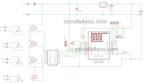 Iot Based Home Automation Project Circuits4you Com