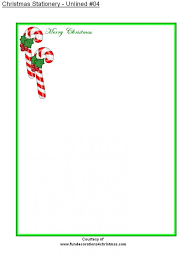 Free Holiday Stationery Templates Template Business