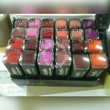 sleek makeup u s a lipstick waterproof velvet health beauty in others sarawak