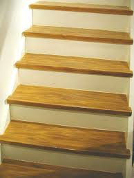 diy make your painted staircase look like real wood again, painting, stairs