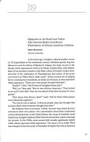 racist essay essay about racism how i teach college level writing  on reading the expurgated huck finn or why we should teach robin bernstein page 1 from