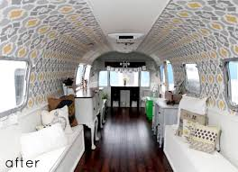 Airstream Interior Design Painting Custom Decorating Ideas