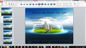 themes for ms powerpoint how to make your own powerpoint themes youtube