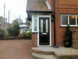 previous image next image kommerling porch with a black solidor posite door gateshead