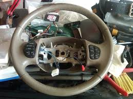 steering wheel swap page 3 ford truck enthusiasts forums 2003 steering wheel does that make sense so yes you will have to use the 2000 ex connectors and cut and splice wires from the ex and the 2003 wheel