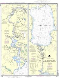 Noaa Nautical Chart 11495 St Johns River Dunns Creek To