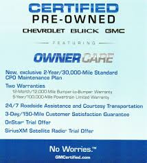 What Does The GM Certified Pre-Owned Program Offer? | GM Authority