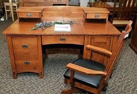 mission style solid oak office computer. Desk The Connection Solid Wood Furniture Quarter Oak Mission Computer Style Corner . Office K