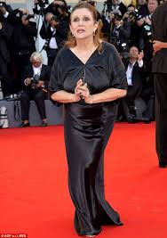 carrie fisher 2014. Wonderful Carrie On The Carpet Carrie Fisher Pictured At Venice Film Festival Last  August Denied A Story In The New York Post On Sunday That Sheu0027s Buying Drugs Los  To Fisher 2014