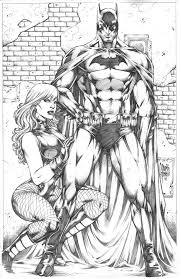 Batman Black Canary By Marcio Abreu