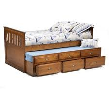 captains bed with trundle. Brilliant Captains Bernards Logan Twin Captainu0027s Bed With Trundle U0026 Drawers Intended Captains With U