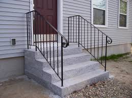 Wrought Iron Handrails Exterior Wrought Iron Handrail Med Art Home Design Posters
