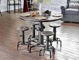 high pub table and chairs round pub table and stools industrial pub set modern pub table pedestal bar table