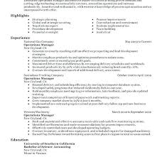Director Of Operations Resume Download Director Of Operations