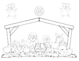 Manger Coloring Pages Printable Manger Printable Coloring Pages Free