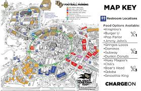 Spectrum Stadium Seating Chart Ucf Guide To 2018 Ucf Football Season