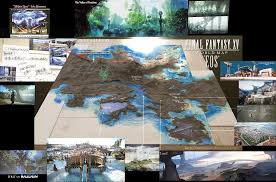 full map and revealed map  final fantasy xv message board for