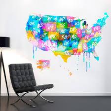 21 ideas of united states map wall art wall art ideas