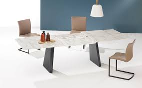 contemporary dining table marble natural stone tzoidal 1460 fontana by georg appeltshauser gino lo